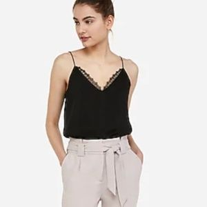 Lace Neck Downtown Cami NEW